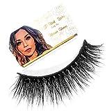 MARIAN HANNA 5D Real Mink Lashes Strip   100% Handmade   Cruelty Free   25-30 Times Reusable False Eyelashes   Wispy Eye   Dramatic   Soft   Lash Boost   Fluffy Long (Luxor)