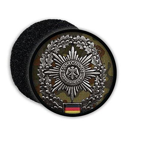 Copytec Patch BW Feldjäger ISAF FJg Barett Abzeichen Einheit Bundeswehr Aufnäher Tarnung #20877