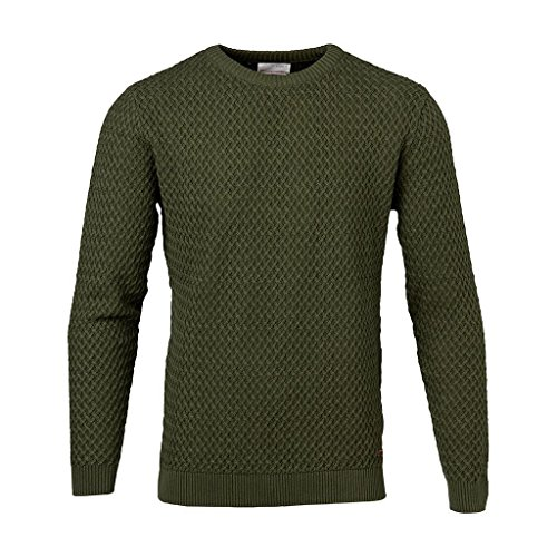 Knowledge Cotton ApparelMaglione - Rifle Green