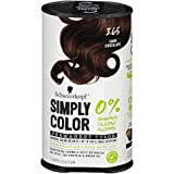 Schwarzkopf Simply Color Permanent Hair Color, 3.65 Dark Chocolate