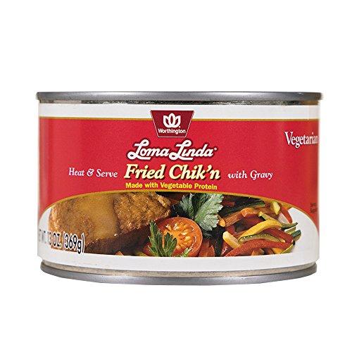 Loma Linda - Plant-Based - Fried Chik'n with Gravy (13 oz.) - Kosher