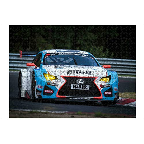 artboxONE Ravensburger-Puzzle L (500 Teile) Sport / Motorsport Aufgedreht - Puzzle Rennwagen Rennsport DTM