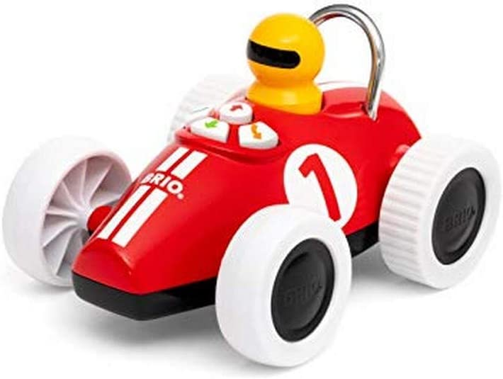 BRIO Play & Learn Action Racer - Full view of the toy