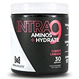 MDRN Athlete Intra9 | All 9 Essential Amino Acids EAA | 7 Grams | 2:1:1 Branched Chain Amino Acids BCAA | Keto | Recovery and Enhanced Hydration | Cherry Limeade (30 Servings)