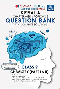 Oswaal Kerala SSLC Question Bank Class 9 Chemistry Chapterwise & Topicwise (For March 2020 Exam) Old Book by [Oswaal Editorial Board]