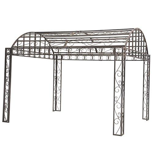 Sunjoy Siesta Garden Iron Pergola, 10' x 12'
