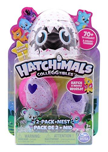 Bizak Hatchimals Pack de 2 Figuras Coleccionable, 2 Unidades (61921914)
