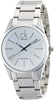 Calvin Klein Men's Blue Dial Stainless Steel Band Watch - K2G2114N