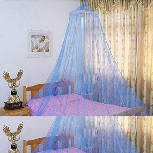 1 Piece Blue Crib Mosquito Net Crib Mosquito Net Portable Foldable Newborn Sleep Be'd Travel Be'd Net Game Tent LATT LIV