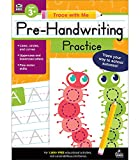 Carson Dellosa Trace With Me: Pre-Handwriting Practice Workbook—PreK-Grade 2 Writing Practice, Line, Circle, Curve Strokes and Letter Tracing (128 pgs)