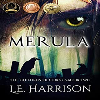 Merula     The Children of Corvus, Book 2              Written by:                                                                                                                                 L.E. Harrison                               Narrated by:                                                                                                                                 Andrew McDermott                      Length: 9 hrs and 43 mins     Not rated yet     Overall 0.0