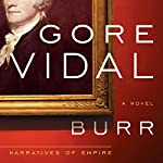 Burr audiobook cover art