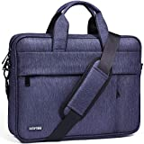 HOMIEE Laptop Shoulder Bag, Protective Laptop Bag for 13' MacBook Air, MacBook Pro Retina, MacBook Pro 2016-2019 with Hard Shell/Dell/HP/Acer Laptop, Waterproof Business Briefcases for Men & Women