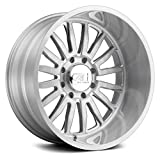 CALI OFF-ROAD SUMMIT (9110) BRUSHED Wheel Clear Coated (0 x 12. inches /6 x 135 mm, -51 mm Offset)