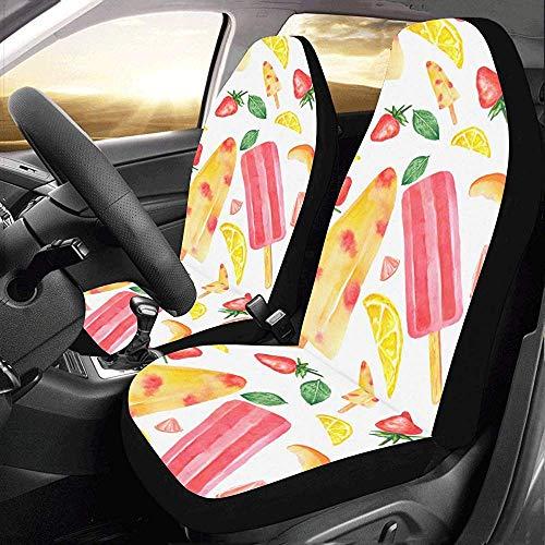 Enoqunt Eiscreme Cool Summer Supply Autositzbezüge Protector für Automobile Jeap Truck SUV Fahrzeug