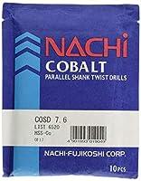 NACHi(ナチ)ハイスドリル コバルトストレートシャンクドリル COSD 7.6mm (10本入)