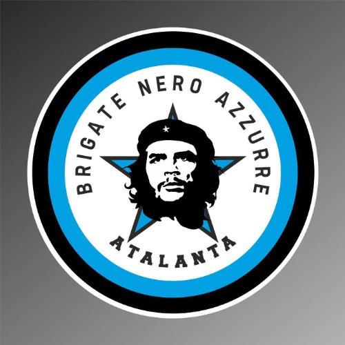 Aufkleber - Sticker Brigate Nero Azzurre Atalanta serie A ultras sticker