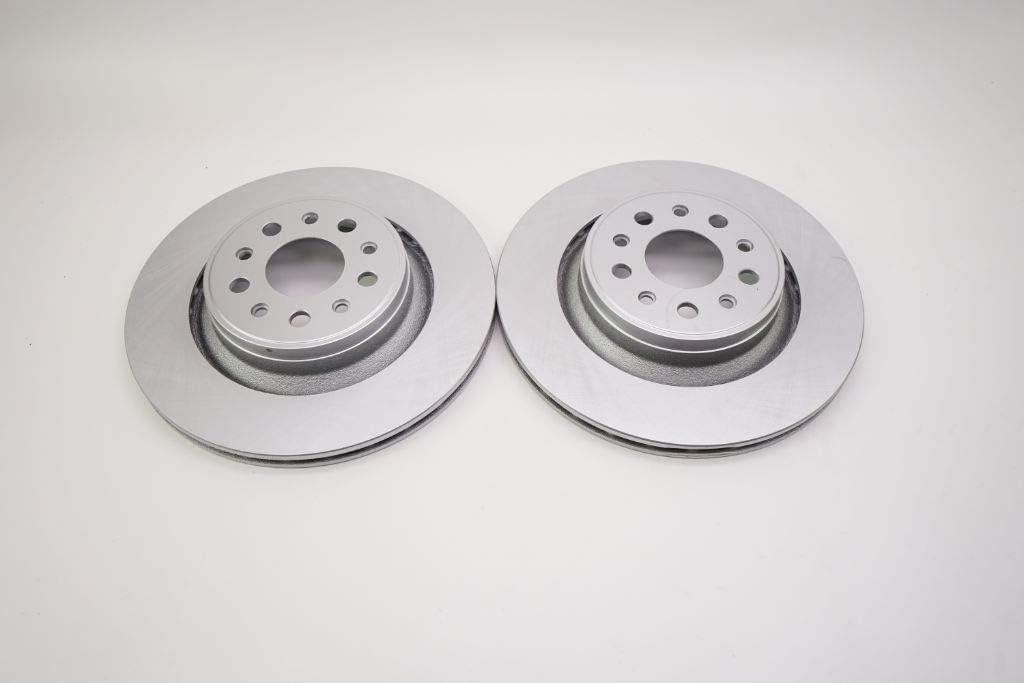 TopEuro replacement for Maserati Max 70% OFF Ghibli brake rotors s New color Base rear