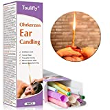 Bougie en cire auriculaire, dissolvant à la cire auriculaire, retirer la cire auriculaire, d'oreille avec filtre et carton de protection