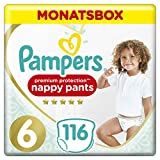 Pampers Premium Protection Pants, Gr. 6, 15kg+, Monatsbox (1 x 116 Pants)