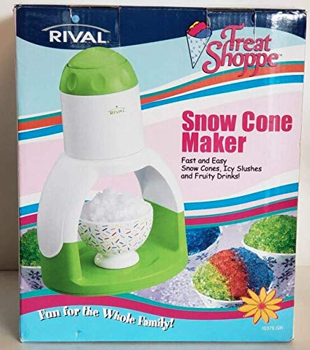 Great Features Of Rival Treat Shoppe Snow Cone Maker