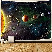 QYMeng-タペストリー宇宙空間プリントタペストリー寝室用壁画壁掛けリビングルーム寮家の装飾180x230cm