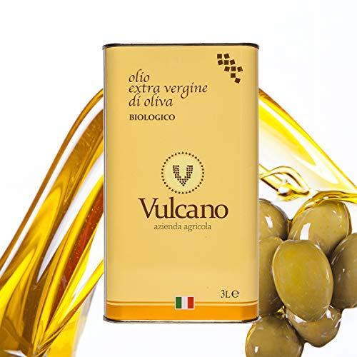 Vulcano - Olio Extravergine di Oliva Italiano Bio 3L