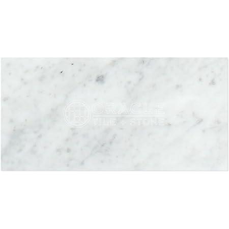 Carrara White Italian Bianco Carrara Marble 4 X 12 Field Tile Honed Amazon Com