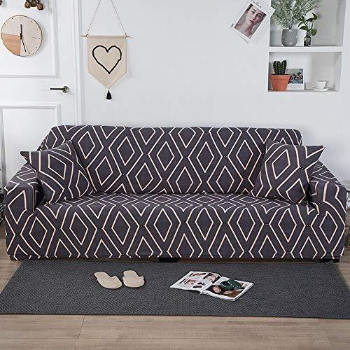 Housses de canapé en Tissu épais pour Salon épaissir Moderne Housse de canapé d'angle élastique Housse de Chaise Housses de Protection A12 1 Place