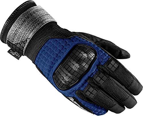 Spidi Rainwarrior - Guantes para moto (talla L), color negro y azul