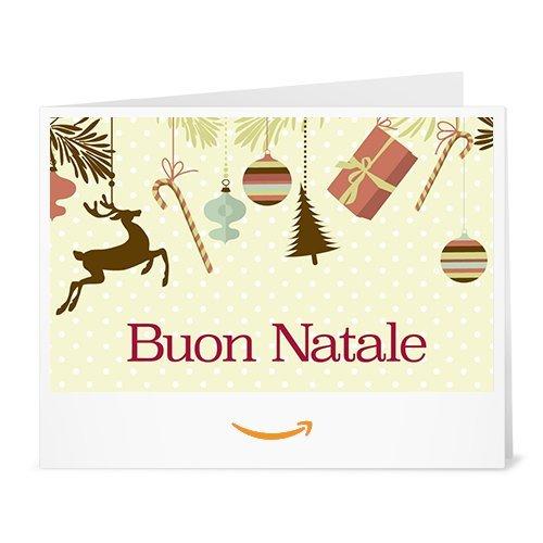 Buono Regalo Amazon.it - Stampa - Ornamenti di Natale