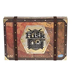 60th anniversary of the risk game: celebrate 60 years of risk game history with this edition of the board game; it includes premium packaging and game pieces, and unique artwork For fans and families: this 60th anniversary edition is the ultimate boa...