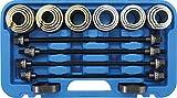 BGS 67302 | Juego de extractores de silent blocks | con 4 husillos | 26 piezas