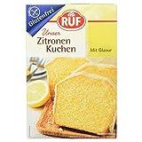 RUF Glutenfreier Zitronen Kuchen mit fruchtiger Zitronenglasur, 1 x 530 g