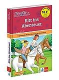 Bibi und Tina Ritt ins Abenteuer: 4 spannende Pferde-Abenteuer in einem Band. Mit Hufeisen-Quiz. (Lesen lernen mit Bibi und Tina)