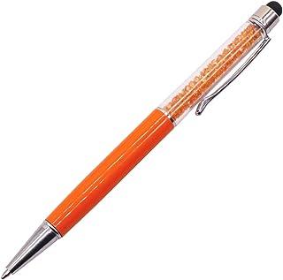 قلم لمس (2 في 1) تصميم كريستالي، للكتابة والرسم بحرية على جميع شاشات الكمبيوتر اللوحية وجميع شاشات الهواتف المحمولة لهاتف ...