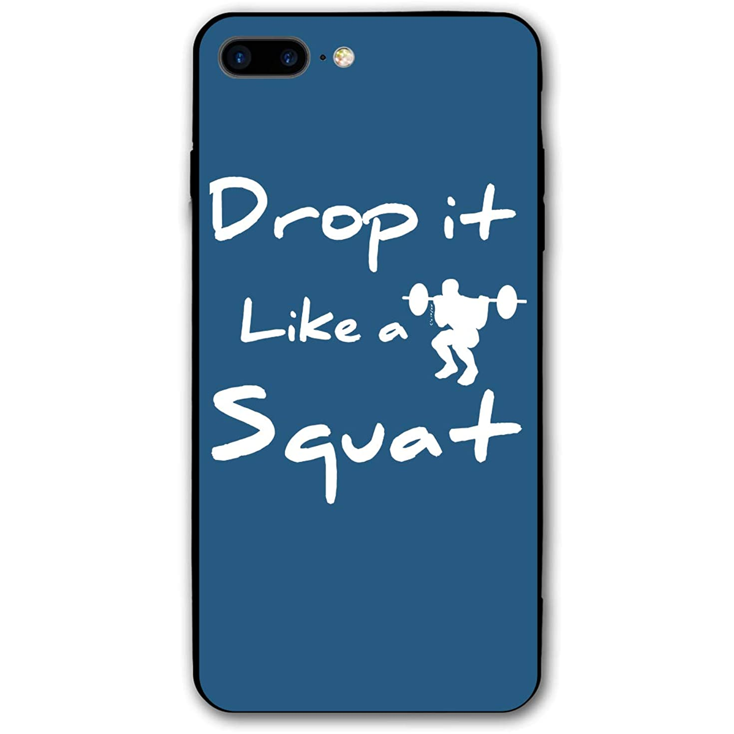 Slim-Fit Ultra-Thin Anti-Scratch Shock Proof Dust Proof Drop It Like Squat Case for iPhone 7/8 Plus