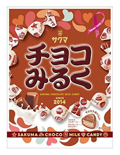 サクマ製菓 チョコみるく 70g×10袋