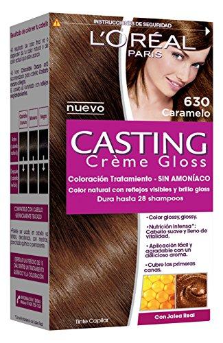 Tinte para cabello permanente Casting Crème Gloss L'Oréal Paris 415 Chocolate Glasea