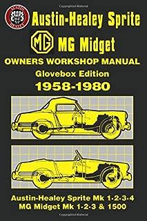Mg Sprite/midget Glove Box Workshop Manual 1958-80