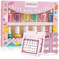 TOMICCA Kids Nail Polish Set plus Coupon savings