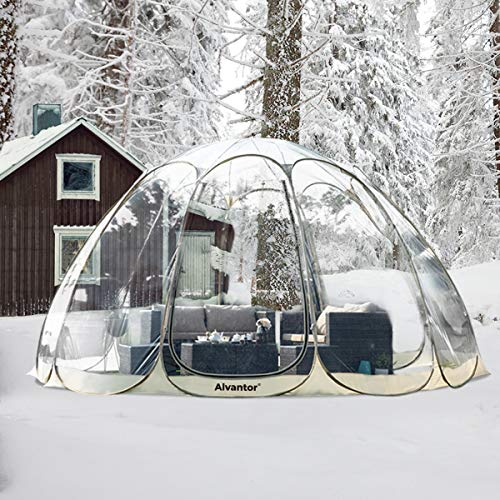 Alvantor Winter Screen House Room Camping Tent Canopy Gazebos 15-20 Person for Patios, Large...