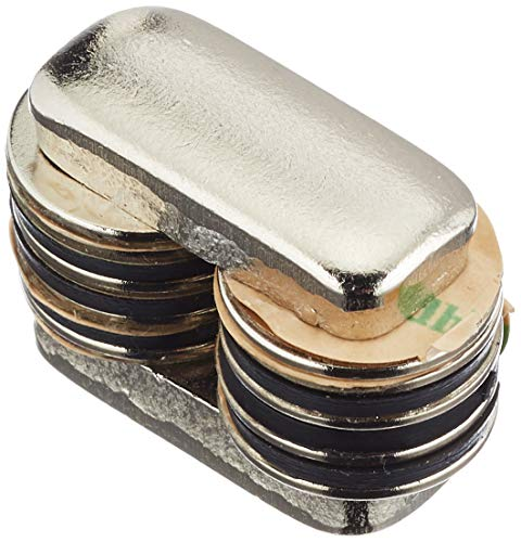 first4magnets F309SA -10 - Set di magneti, 15 mm diametro x 1 mm spessore N42 Neodym, potenza: 1,1 kg,10 pz.