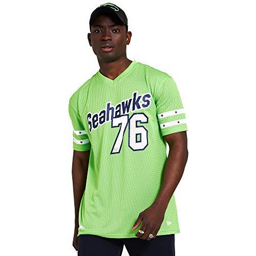 New Era NFL New Era Seattle Seahawks T Shirt Jersey American Football Grün - S
