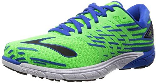 Brooks - Purecadence 5, Scarpe sportive Uomo, Verde/Blu, 40 EU