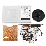 Guolongbaihuo El Kit del módulo Tubos de Bricolaje Am Am Onda de Radio Práctica Kit de Estudiantes de Soldadura Set 7 Kit de producción electrónica
