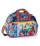 J.M.Inacio, Lda Marvel´S The Avengers Sportiva 38x27x17 cm Custodia Borsa da Viaggio Ragazzi Bambini Scuola Captain America Thor Iron Man Hulk