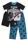 Boys Lego Star Wars Pajamas - 3-Piece Short Sleeve Pajama Set with Shorts (Multicolor, M-8)