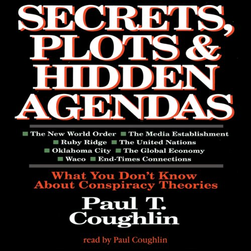 Secrets, Plots, and Hidden Agendas audiobook cover art