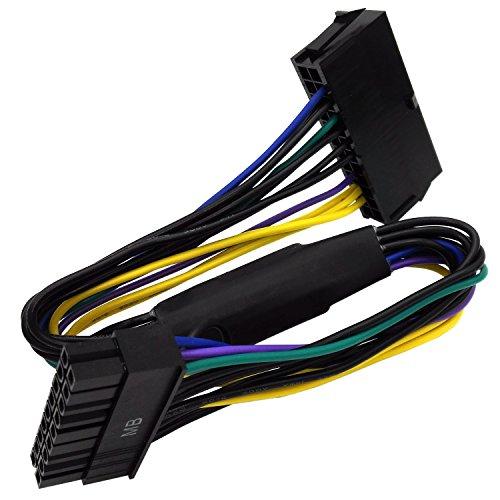 COMeap 24 pines a 18 pines ATX Fuente de alimentación Adaptador Cable para estación de trabajo HP Z220 Z230 Z420 Z620 33 cm (13 pulgadas)